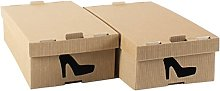STYLE4HOME Pack of 10 Stylish Cardboard Storage