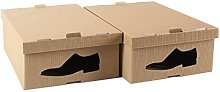 STYLE4HOME Pack of 2 Stylish Cardboard Storage
