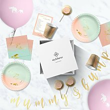 Styleboxe Mummy Bump Baby Shower Decoration Set