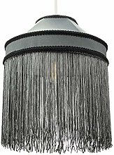Stylish and Unique Grey Pendant Light Shade with