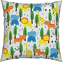 Stylish Cute Kids Room Throw Pillowcase Trees and