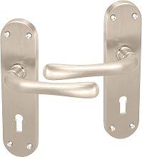 Stylish Lever Latch Keyhole Lock Door Handles