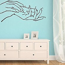 Stylish Sexy Direct Hand Nail Hands Girl Home