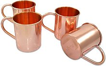 Stylla London® Handcrafted Moscow Mule Set of 4