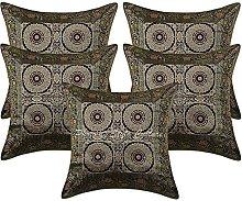 Stylo Culture Brocade Bohemian Decorative Cushion