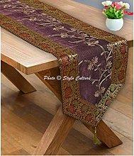 Stylo Culture Coffee Table Runner Elegant Long 72