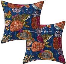 Stylo Culture Cotton Bohemian Bedroom Cushion