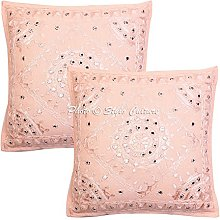 Stylo Culture Cotton Boho Bedroom Cushion Covers