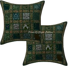 Stylo Culture Cotton Boho Bedroom Scatter Cushions