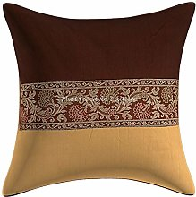 Stylo Culture Ethnic Cushion Covers 16 x 16 Inches