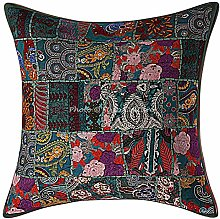 Stylo Culture Ethnic Cushion Covers 24x24 Inches
