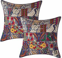 Stylo Culture Ethnic Decorative Large Cushion