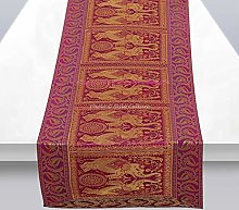 Stylo Culture Indian Centre Table Runner For