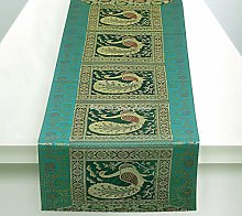 Stylo Culture Indian Coffee Table Runner Dark