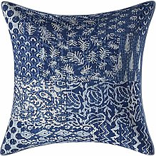 Stylo Culture Indian Cotton Sofa Couch Pillow
