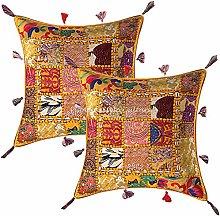 Stylo Culture Indian Decorative Bohemian Cushion
