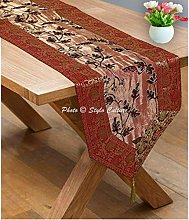 Stylo Culture Indian Dining Christmas Table Runner