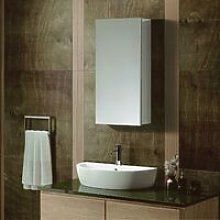 Stylo Mirror Cabinet With 2 Adjustable Glass Shelf