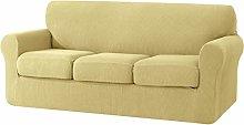 SU SUBRTEX 3-Seater Sofa Cover with 3 Separate