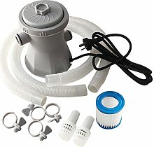 su-xuri Pool Filter Pump Set, 300 Gallon Above