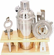 Suading 7Pcs Stainless Bar Cocktail Shaker Set