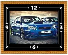 Subaru Impreza WRX STI Clock Gift Present