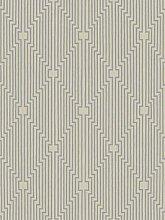 Sublime L'Art Silver Wallpaper