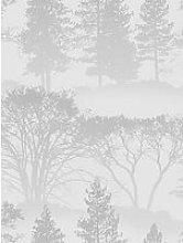 Sublime Misty Morning Grey Wallpaper