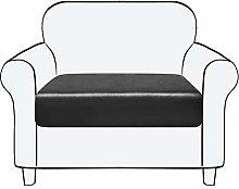subrtex Leather Sofa Seat Cushion Covers PU Seat