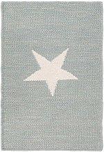 Subtle Star Teal 120x180 cm