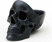 SUCK UK Box | Gothic Desk Tidy | Stationary Skull