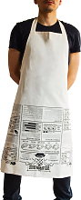SUCK UK Cooking Apron with BBQ Tips - 1 item