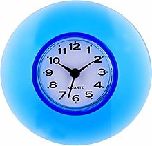 Suction Wall Clock Water-Resistant Timer For