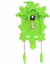 SuDeLLong Cuckoo Clock Wall Clock With Bird Cuckoo