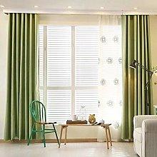 Suede Blackout Curtains, Linen Modern Solid color
