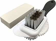 Suede & Nubuck 4-Way Brush + Eraser - Premium Shoe
