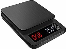 sufengshop LCD Electronic Coffee Scale Black Big