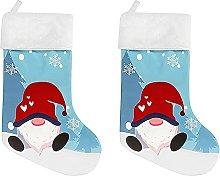 SUFUBAI 2 Pack Christmas Stockings, 18.5inch