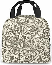 Sugar Donuts Lunch Bag Tote Bag Lunch Organizer