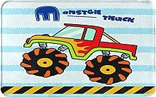 SUHETI carpet bath mat,rug,balcony,Monster Truck