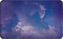 SUHETI carpet bath mat,rug,balcony,Night Sky With