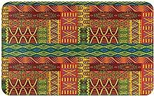 SUHETI carpet bath mat,rug,Ethnic Aztec African
