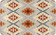 SUHETI carpet bath mat,rug,Ethnic Pattern With