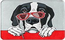SUHETI carpet bath mat,rug,Great Dane Dog With A