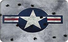 SUHETI carpet bath mat,rug,Great Image USAF Star