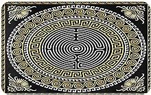 SUHETI carpet bath mat,rug,Greek Key Classical