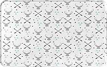 SUHETI carpet bath mat,rug,Hunting Theme Arrow