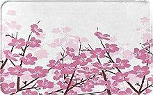 SUHETI carpet bath mat,rug,Japanese Cherry