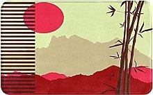 SUHETI carpet bath mat,rug,Japanese Theme With