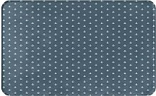 SUHETI carpet bath mat,rug,Navy Blue Nautical